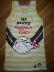 Платье-туника  летнее  Disney Дисней 122-128р.