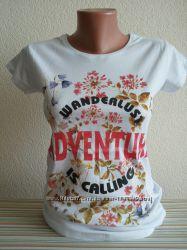 Новые женские футболки, с, м, л, хл