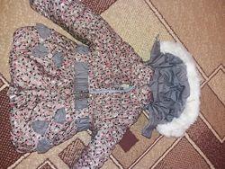 Комбинезон на овчине, куртка
