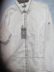 Рубашки белые для мальчиков