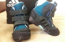 Зимние термо ботинки Adidas, 24 р. , 14-16 см. стелька, хорошее состояние
