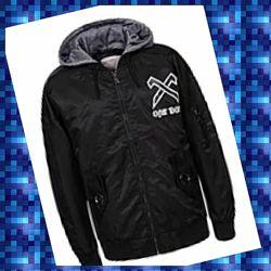 Стильная куртка ветровка бомбер унисекс