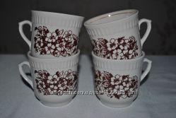 Чайные чашки из сервизов. Разные