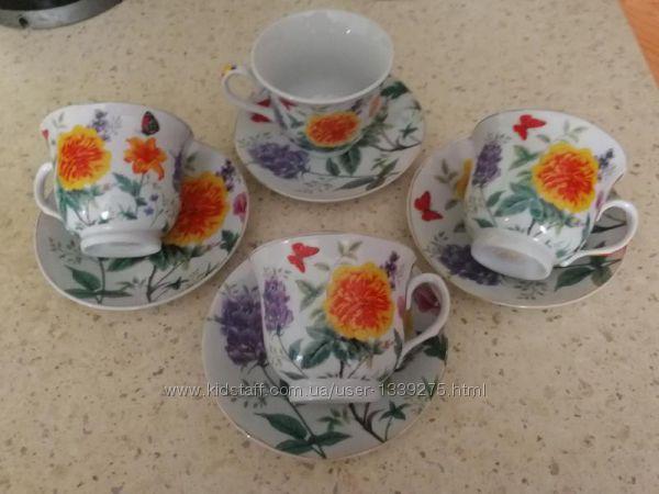 Чайный набор на 4 персоны. Китай
