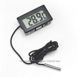 Цифровой гигрометр термометр с датчиком градусник