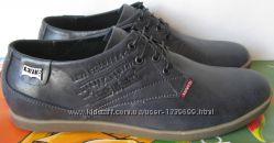 Levis стильные мужские классические туфли ботинки натуральна кожа Левайс