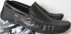 Levis стильные мужские мокасины Кожа весна осень обувь Турция левис лето