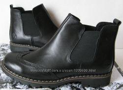 Подростковые стильные ботинки Timberland челси натуральная кожа оксфорд