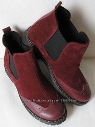 Timberland 2020 женские ботинки челси оксфорд замша кожа Тимберланд бордо