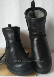 Мужские сапоги Levi&rsquos Levi Strauss Winter угги черные кожаные UGG Боти
