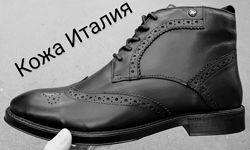 TODS мужские зимние броги ботинки оксфорд на шнуровке натуральная кожа зм