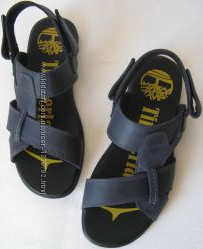 новые кожаные мужские стильные сандалии Timberland копия Тимберланд лето