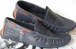 Levis жесть Качественные весна лето мужские кожаные мокасины туфли обувь