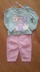 комплект для девочки брюки Early days и кофточка TU