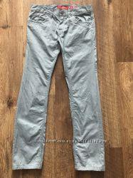 Мужские брюки чиносы junker голубого цвета хлопок размер 29