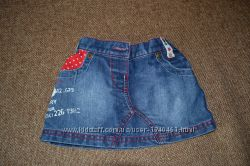 Юбка, юбочка, спідничка джинсова Next