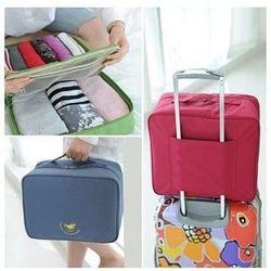 Дорожная сумка органайзер для путешествий с ручкой на чемодан