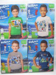 Футболка мальчику 4 - 6 лет. Рост 110 - 116 см.  Lupilu  Германия