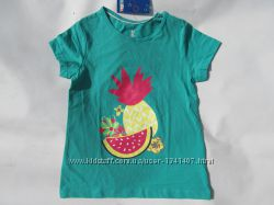 футболка для девочки на 4- 6 лет. Lupilu рост 110 -116 см. Германия