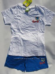 Пижама хлопок  на 6 - 8 лет Рост 122 -128 см. - Франция
