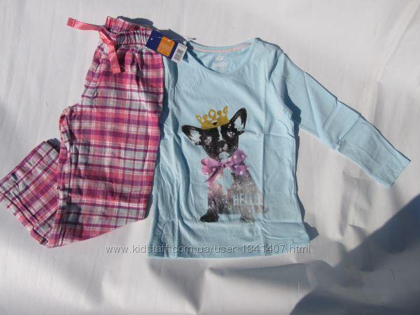 Пижама для девочки Lupilu на рост 110-116 см. 4 - 6 лет. Германия Фланель