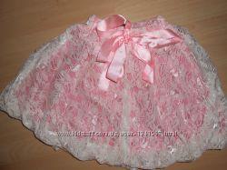 Нарядная пышная юбка на 6-8 лет.