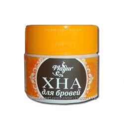 Хна для бровей тёмно-коричневая Mayur, 10 г