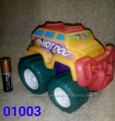 Машинки Keenway Hot Dog и Dino Express