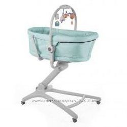 Люлька шезлонг колыбель стульчик для кормления Сhicco Baby Hug 4в1
