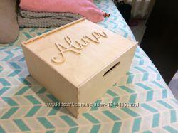 Деревянные ящики с вашим именем