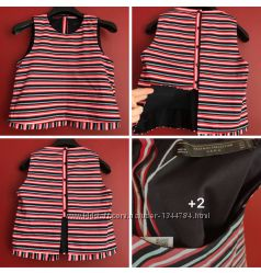 Стильная блуза с красивой спинкой от ZARA