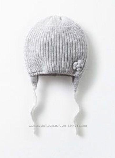 Sale ZARA baby girl / шапка демисезонна / 06-12міс.