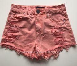 Стильные джинсовые шорты от TALLY WEIJL xxs-xs