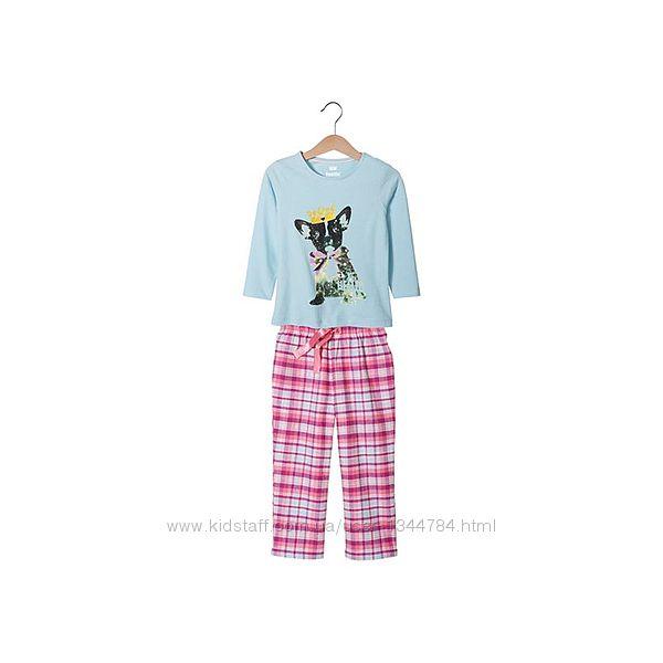 Качественная мягусенькая пижама LUPILU 110-116 4-6лет.