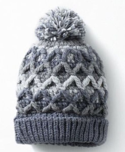Zara / шапка з бомбоном / One size / 6-10р. 10-18р. 50-55см
