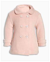 Стильное, мягусенькое пальто от NEXT 92-98 18-36мес.