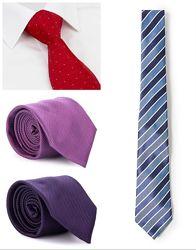 M&S качественный галстук