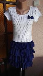 Платье летнее 100 хлопок для девочки 12-13лет, рост 158см от bluezoo