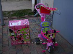 Велосипед трехколесный Smoby Baby Driver Confort Minnie
