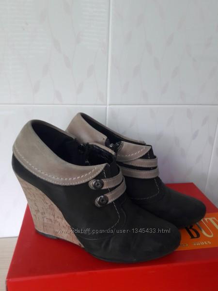 Ботинки 35 размер кожа