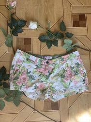 женские шорты clockhouse размер 42, C&A, цветы