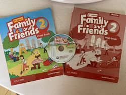 Family and Friends 2 - class book, work book, 2nd Edition, cd Simmons Oxfor