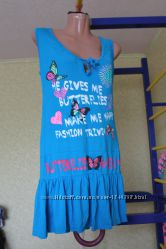 платье туника 46-48рр трикотажное ламбада