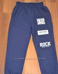 Трикотажные спортивные штаны для мальчиков. Размеры 98-128см. Фирма S&D.