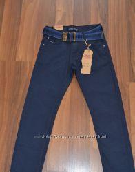 Последний размер Котоновые брюки для мальчиков. размер 140.