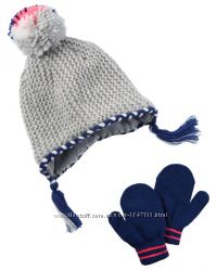 Набор шапка плюс рукавички Carters Картерс