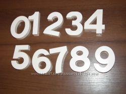 Большие цифры от 0 до 9, для обучения ребенка счету, длинна 7 см
