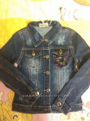Пиджаки джинсовые для девочек 16 лет, маломерят