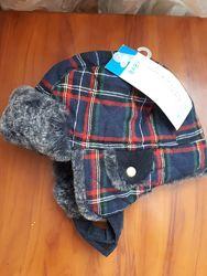 Зимняя шапка Pepco на 1-2 года новая