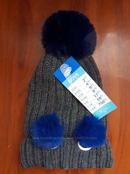 Теплая шапка Pepco 52р новая